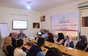 The CEC participates in a capacity building workshop for Palestinian youth