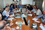 The CEC Meets with Political Parties in the West Bank