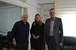 CEC Chairman Meets with the German Representative in Palestine