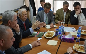 A Delegation of the European Parliament Visits the CEC